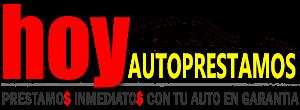 Hoy Autoprestamos / Empeño de Autos / Casa de Empeño / Prestamos sobre Autos Logo